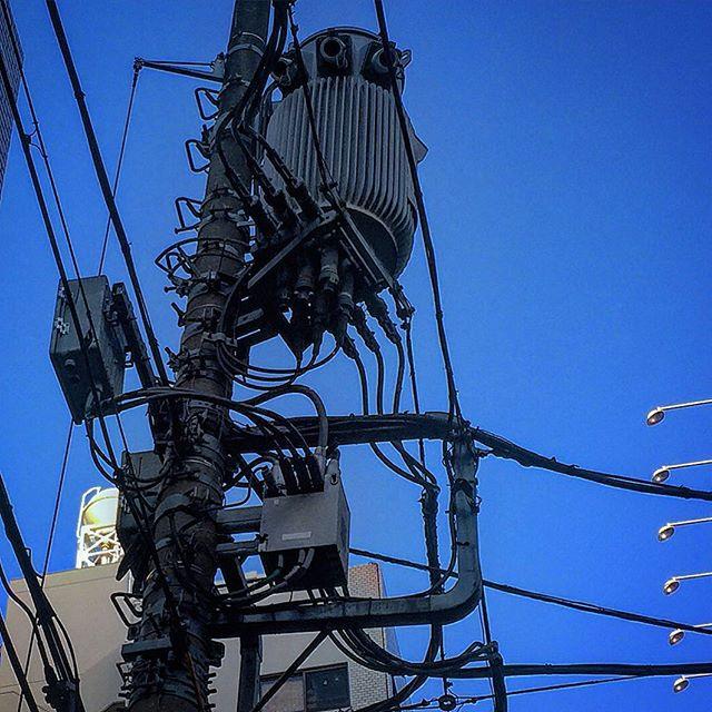 秋葉の電柱#電柱 #電柱が好き