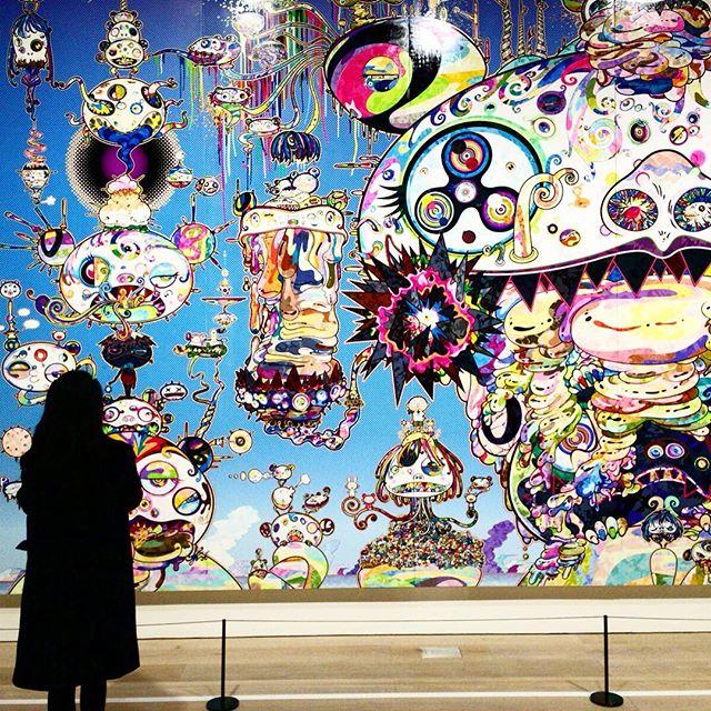 #村上隆の五百羅漢図展