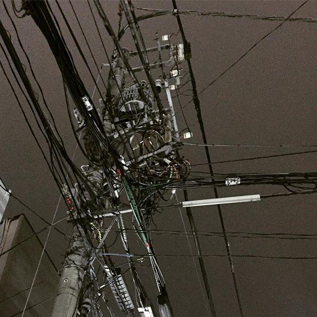 新宿5丁目の#電柱