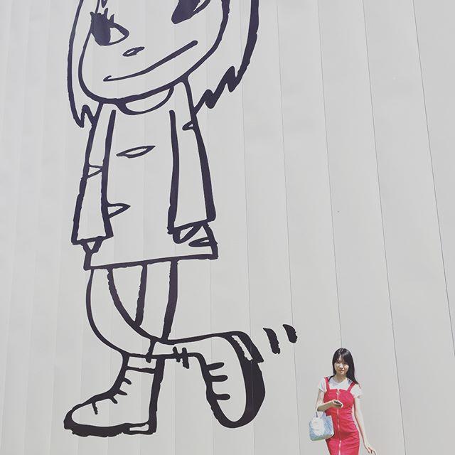 #十和田市美術館 は常設展示もsns可になればいいのにね。いい天気でした