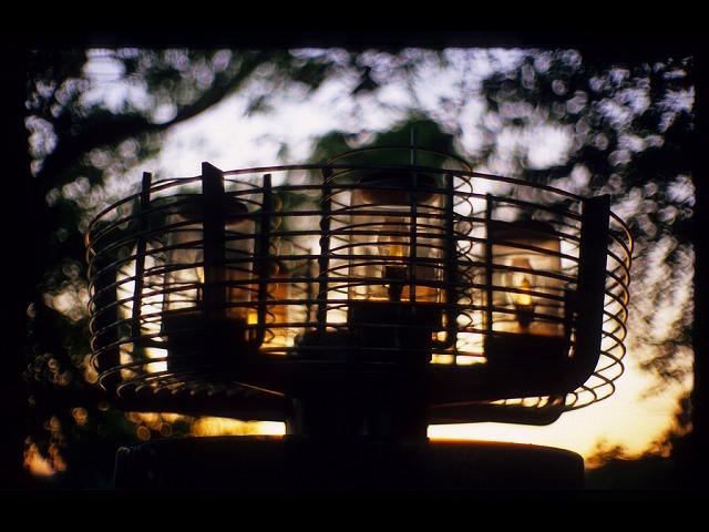 平和公園の灯